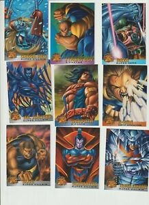 1995-FLEER-1996-X-MEN-MT-18-SET