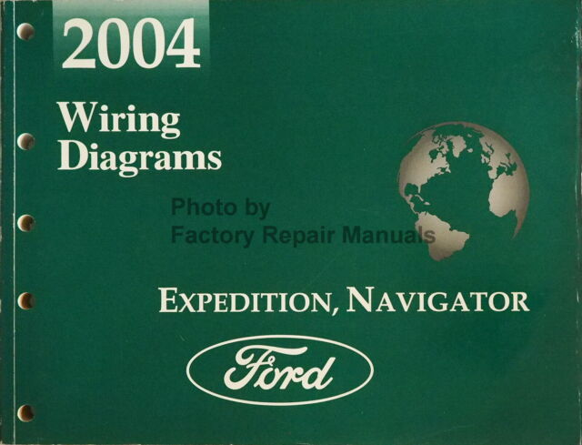 2004 Ford Expedition Lincoln Navigator Electrical Wiring