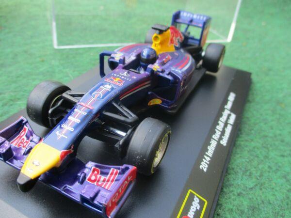 100% De Qualité Infiniti Red Bull Rb10 No.1 Sebastian Vettel 2014 F1 Saison-échelle 1/32 Rare