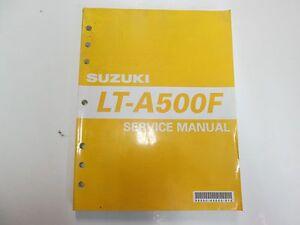 2002 03 04 2005 suzuki lt a500f lta500f service manual stained rh ebay ca Suzuki LT 125 2000 suzuki lt-a500f service manual