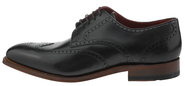 Gordon &S Havret 2466a Leather Business Lace -Ups nero  185977  migliore marca