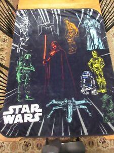 Star Wars Plush Throw 46 x 60