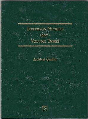 1997-2016 3 Jefferson Nickels No Littleton Folder LCF26