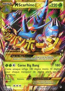 Mega scarhino ex holo 220pv 112 111 secrete neuf carte - Mega scarhino ...