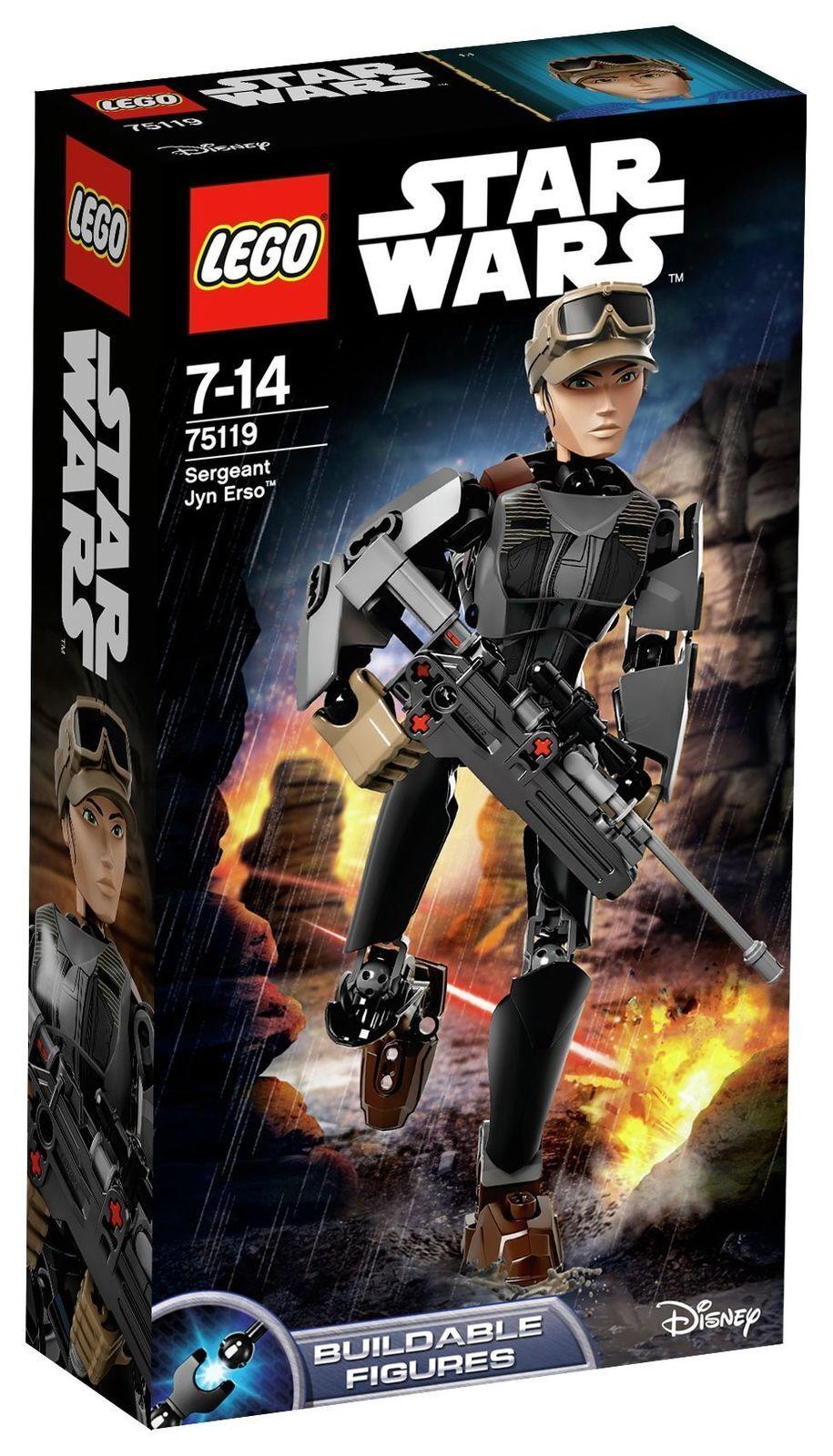 LEGO Star Wars R1 Jyn Erso Figure - 75119
