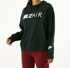 juguete tela Desplazamiento  Ropa Deportiva Nike Air Para Mujer Sudadera Con Capucha Suéter Negro/Blanco  (CN6942-010) Talla M Nuevo Con Etiquetas | eBay