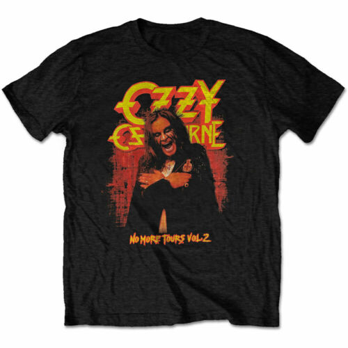2-Sided, All Sizes OZZY OSBOURNE T-SHIRT No More Tours Vol NEW OFFICIAL 2