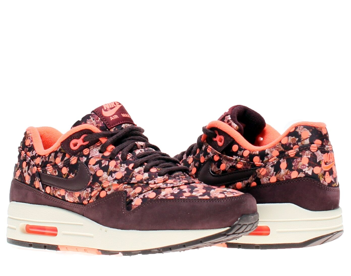 Nike Air Max 1 Liberty Prints QS Deep Burgundy Shoe Size 8 540855 600