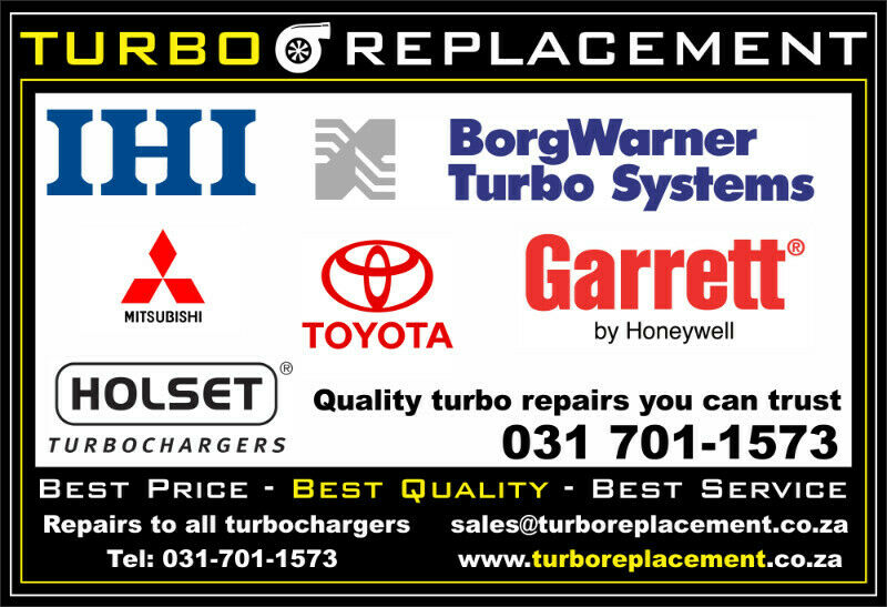 Quality Turbocharger Repairs - TURBO REPLACEMENT - (031-701-1573)