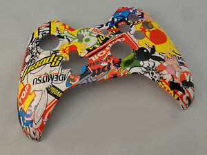Details about Sticker Bomb Hydro Dipped, Front Shell For Xbox One  Controller - New