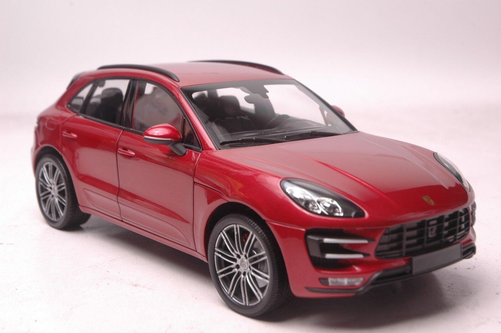 Porsche - suv - modell im maßstab macan 2013 18 rote