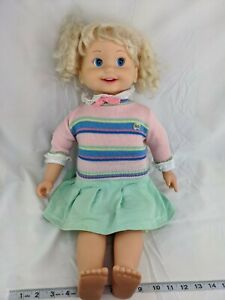 Playmates-Cricket-Doll-Tape-Cassette-Recorder-Only-Works-1989