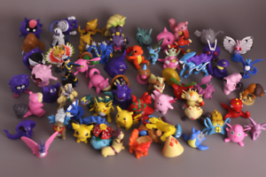 Pokemon-Figures-Medium-Size-lot-of-20-different-figurines-2-Inches