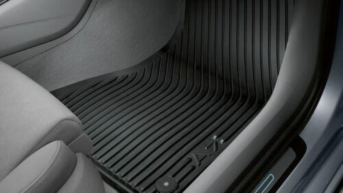 Original Audi A7 4K C8 Alfombrillas de Goma Delanteras + Trasero 4-tlg. Negro