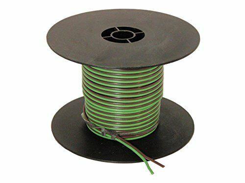 100 Feet 16 Gauge 2-Wire Bonded Parallel Green//Brown