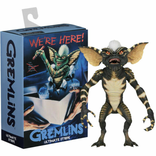 "Neca Ultimate a righe Gremlins Movie Scala da 7/"" pollici Action Figure HORROR Gremlin"