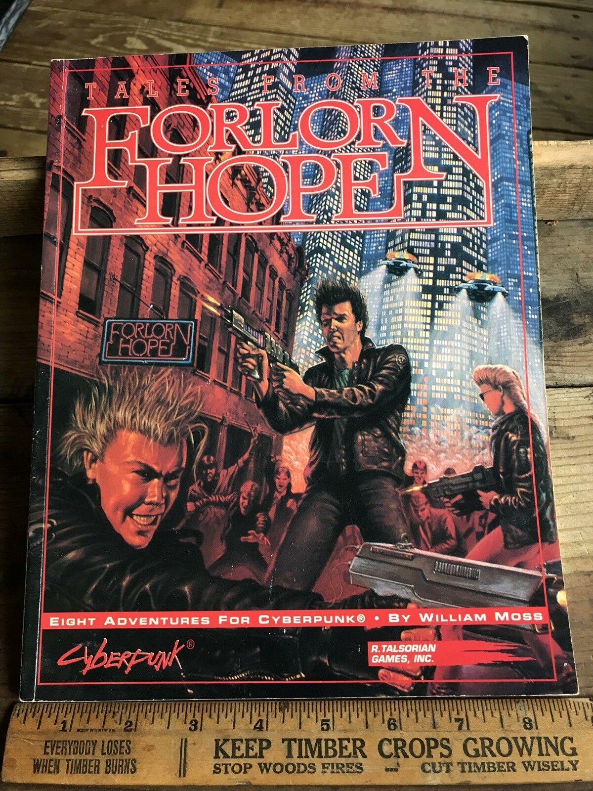 R. Talsorian Cyberpunk Tales from the Forlorn Hope Bar In Night city