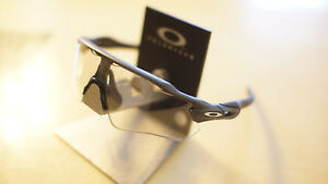 01bee35c01 Details about  new  Oakley Radar EV Path Steel   Clear Black Photochromic  Sunglasses oo9208-13