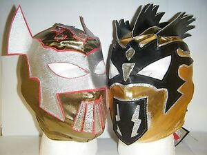 KALISTO /& SIN CARA KID CHILDRENS HEAD WRESTLING MASK WWE FANCY DRESS UP COSPLAY