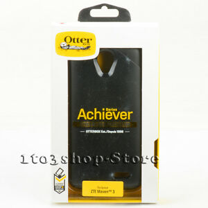 best sneakers 937b7 b311c Details about OtterBox Achiever Hard Shell Case Snap Cover For ZTE Maven 3  Overture 3 Black