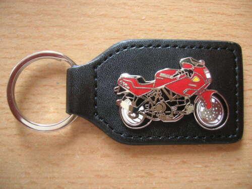 Schlüsselanhänger Ducati 900 SS 900SS Modell 1991 rot red Art 0002 Portachiavi