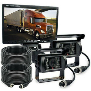 Backup Camera System >> Details About 7 Monitor Rear View Backup Camera System For Skid Steer Rv Forklift Box Truck