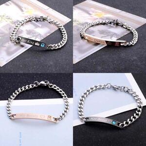 Roi Bracelet Argent 925 dimensions au choix Bracelet Pour Hommes Hommes Chaîne Femmes Bijoux