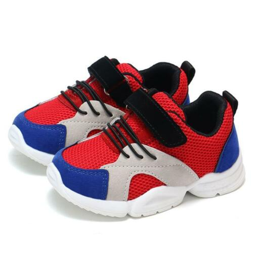 Toddler Infant Baby Boys Girls Children Casual Sneakers Mesh Soft Running Shoes