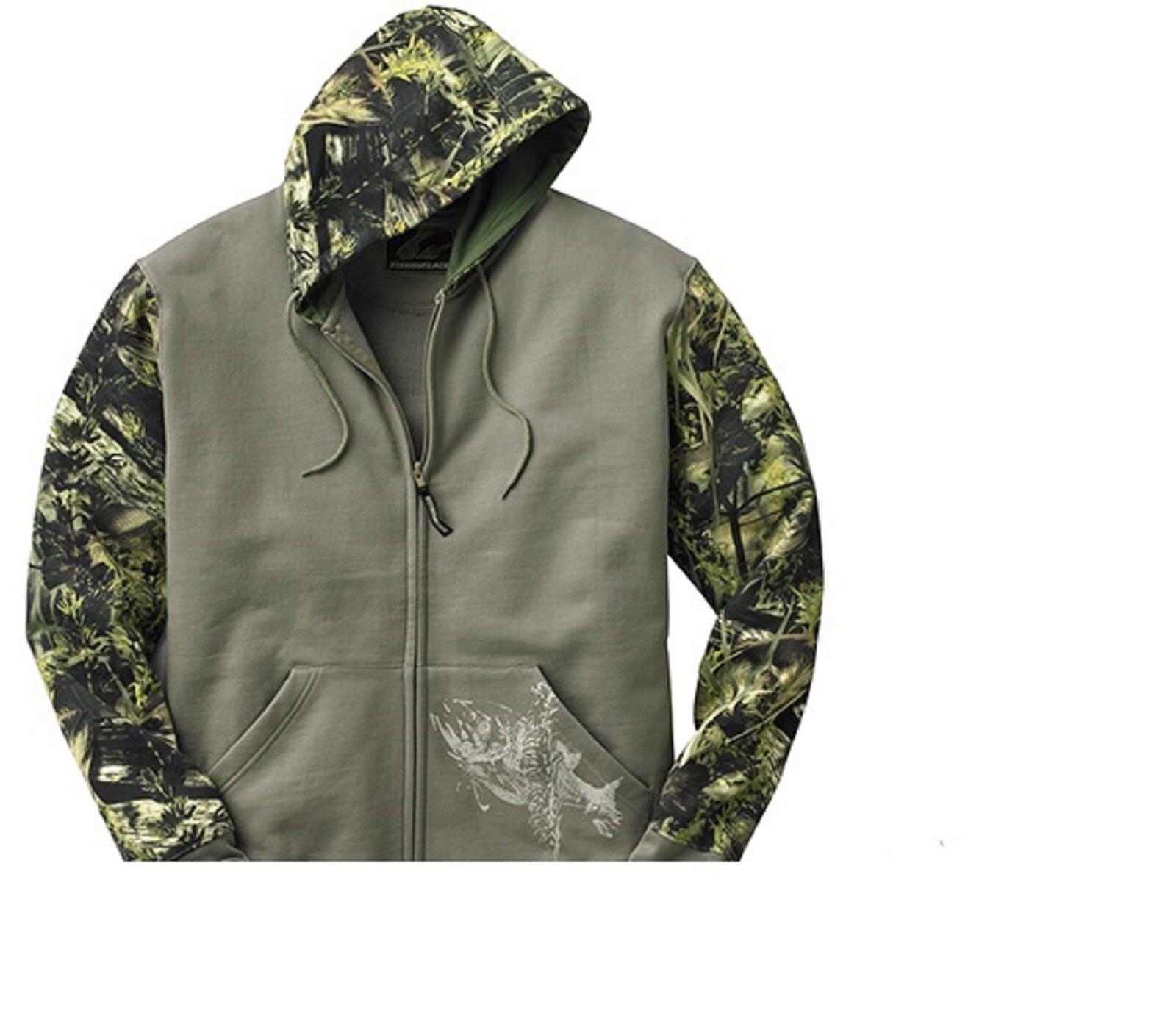 Fishouflage Full Zip Hoodie (3060)