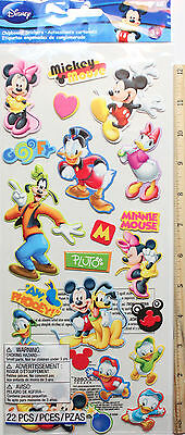 NEW -  DISNEYS ~ LARGE Mickey & Friends Stickers~ FREE SHIPPING