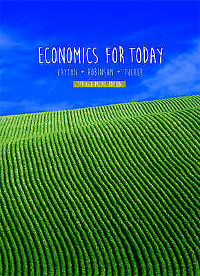 1 of 1 - ECONOMICS FOR TODAY BY LAYTON, ROBINSON  5TH ASIA-PACIFIC ED. + ACCESS CODE, NEW