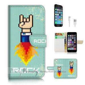 iPhone-8-Plus-8-Flip-Wallet-Case-Cover-P2297-Rock