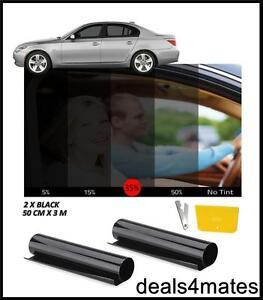 WINDOW-TINT-FILM-TINTING-BLACK-KIT-SMOKE-35-50cm-x-6M