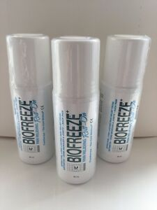BIOFREEZE PAIN RELIEF ROLLON 89ML x 3 UNITS  Expiry Date 0819 - <span itemprop=availableAtOrFrom>Solihull, United Kingdom</span> - BIOFREEZE PAIN RELIEF ROLLON 89ML x 3 UNITS  Expiry Date 0819 - Solihull, United Kingdom