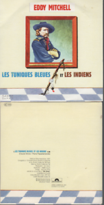 Eddy-Mitchell-Les-Tuniques-Bleues-Et-Les-Indiens-CD-PROMO