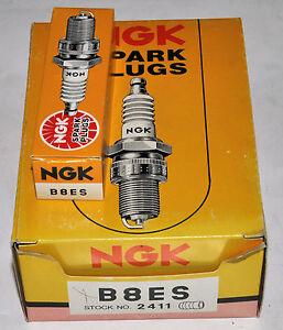 NGK Spark Plugs B8ES #2411 14mm (10 Per Pack)