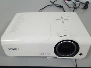 Vivitek D966HD-WT High Brightness 1080p Multimedia Projector