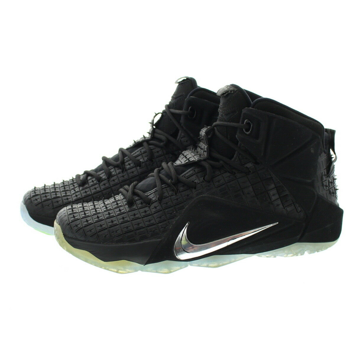 big sale 3ee8f 4cd3f ... best nike 744286 001 rubber mens lebron 12 ext rubber 744286 001 city  qs basketball shoes