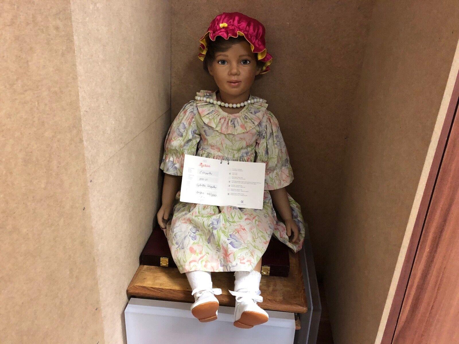 Sigikid Ilse wippler vinilo muñeca 69 cm. top estado