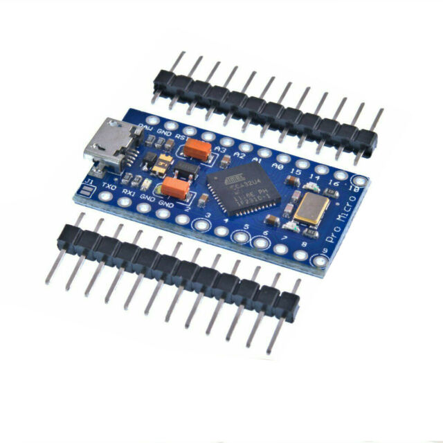 (Arduino Leonardo Pro Micro Compatible) ATMEGA32U4 5V 16MHz  Free Pins