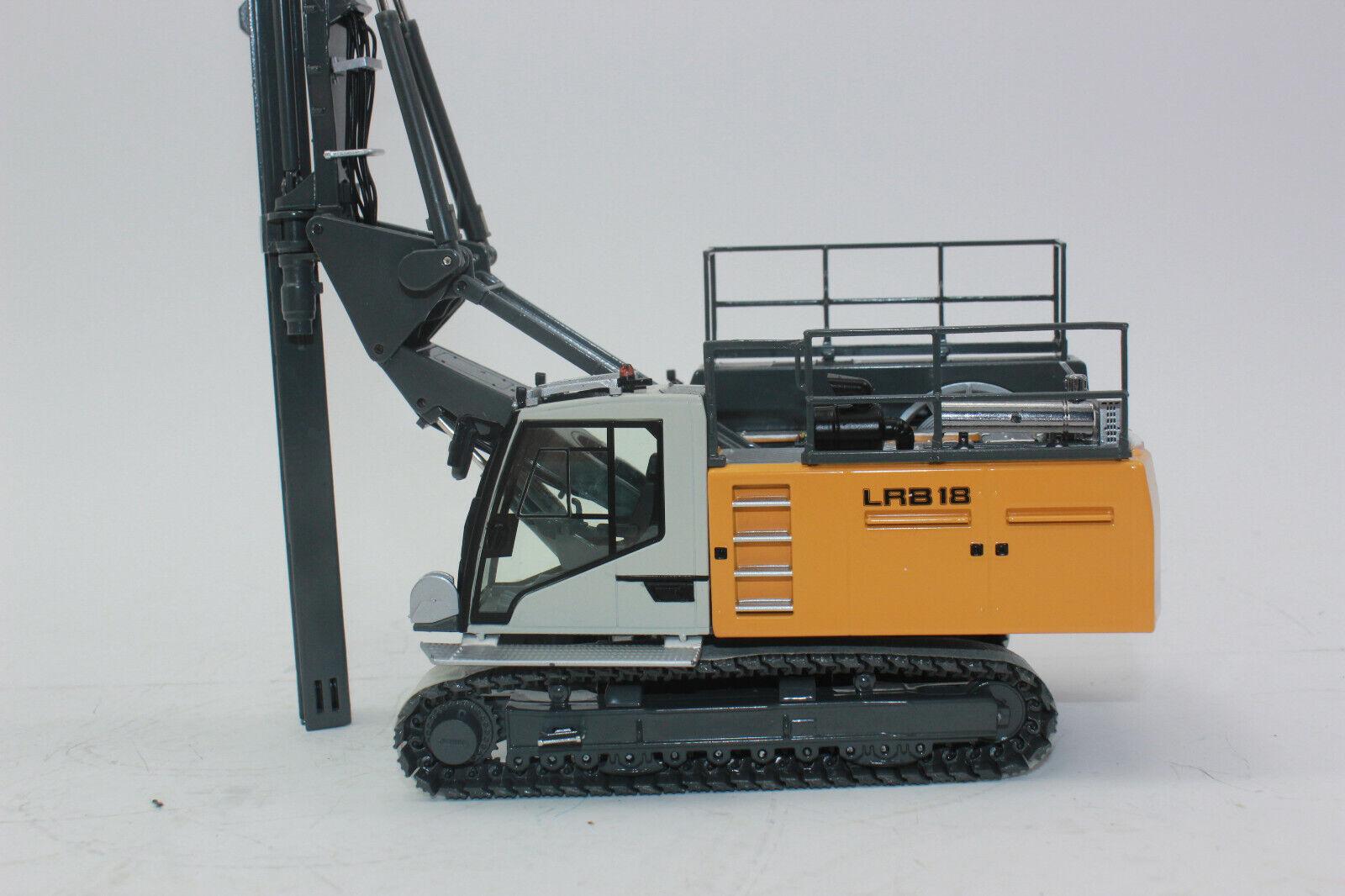 NZG 990 LIEBHERR CCL 18 Ramm et matériel de forage rammgerät nouveau dans neuf dans sa boîte