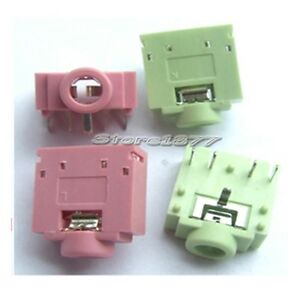 20Pcs-DIP-PCB-Mount-5-Pins-Female-3-5mm-Stereo-Audio-Jack-Socket-s649