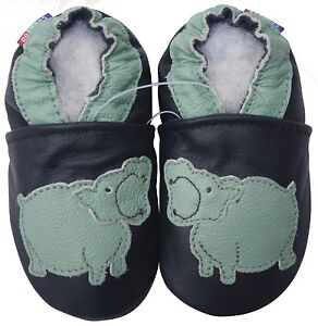 carozoo-soft-sole-leather-kid-shoes-hippo-black-5-6y