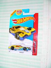2014 Hot Wheels HW Race Formul8r  #153/250  yellow GFL2 win logo
