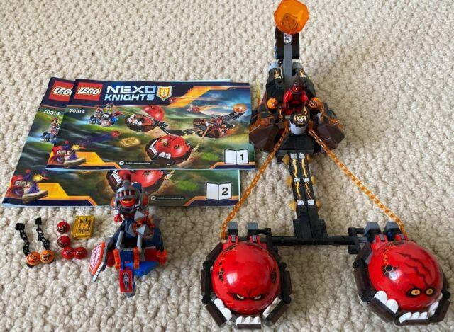 LEGO-NEXO KNIGHTS-70314-Beast Master/'s Chaos Chariot-New in Box-314 pcs