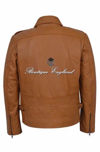 Fashion en 100 hommes cuir 9650 pour clous Series Rockstar Veste à Tan pqOdwxvXzn
