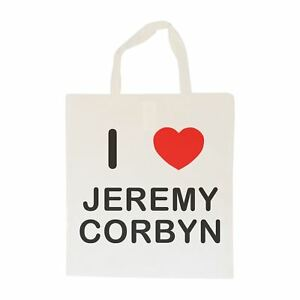 Plastic Shopping Trolley Coin Key Ring Colour Choice New I love Jeremy Corbyn
