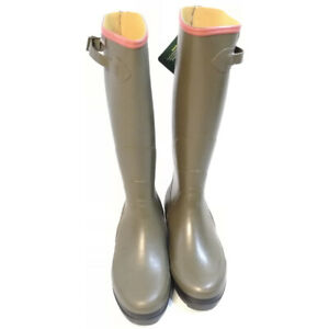 Nuovi Prodotti ea523 33a41 Dettagli su Stivali gomma uomo da pesca e caccia Aigle termici impermeabili  fibbia Benylgrip