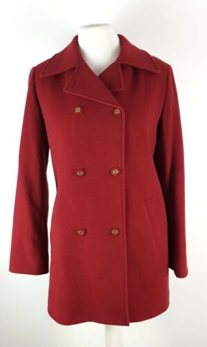 s Brystet Dobbelt Deep Fit Smart Standard 10 Ladies Uld Uk Red Ny M Pure 15pqBY