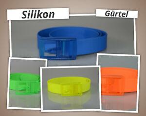 Silikon-Guertel-Neon-Farben-Unisex-Herren-und-Damen